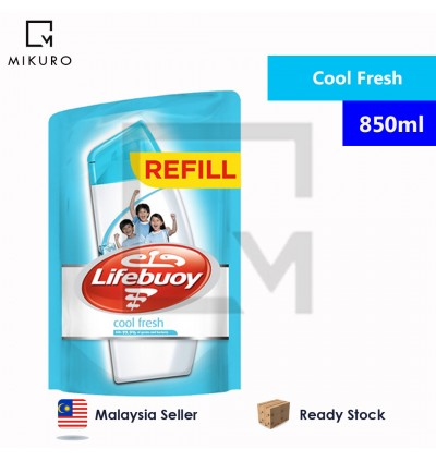Lifebuoy Body wash shower gel Refill pack 450ml/850ml