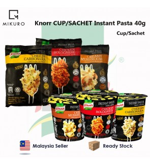 Knorr CUP/SACHET Instant Pasta 40g