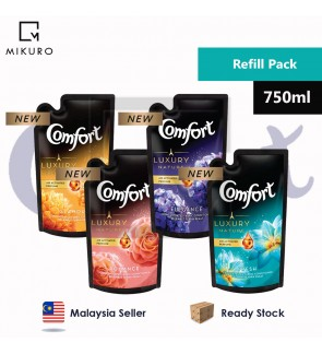 Comfort Concentrated Fabric conditioner  Refil Pouch 750ml