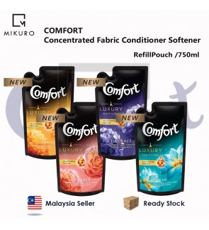 REFILL POUCH Comfort Concentrated Fabric conditioner Softener /750ml