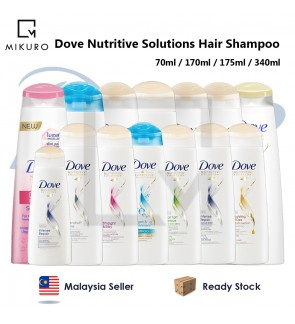Dove Nutritive Solutions Hair Care Hair Shampoo 70ml / 170ml / 175ml / 340ml
