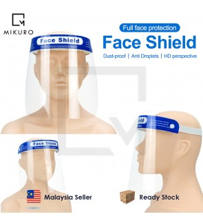 1pc / 5pcs / 10pcs Transparent Protective Mask Full Face Shield Masks Anti Saliva Splash-proof Prote