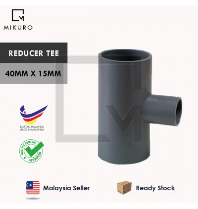 PVC Reducer/40mm Injection Fitting for Pleasure Connector Pipe Socket/Tee/Bush