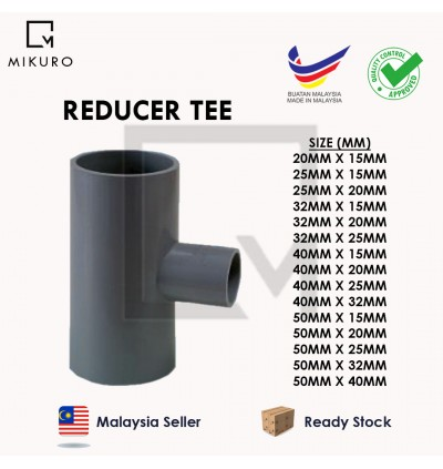 PVC Reducer/50mm Injection Fitting for Pleasure Connector Pipe Socket/Tee/Bush