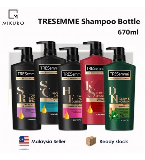 TRESEMME Shampoo Hair Care Bottle 670ml
