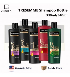 TRESEMME Shampoo Hair Care Bottle 330ml/340ml