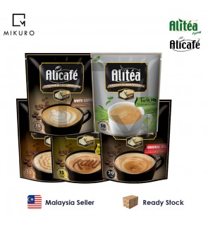 Alicafe Tongkat Ali & Ginseng 5in1 Instant Coffee