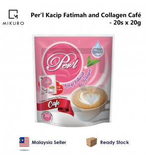 Per'l Kacip Fatimah and Collagen Café (20gm x 20pcs)