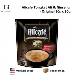 Alicafe Tongkat Ali & Ginseng 5 in 1 Coffee - Original (30gm x 20pcs)