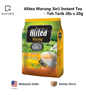 Alitea Warung 3 in 1 Instant Tea - Tarik (30gm x 18pcs)