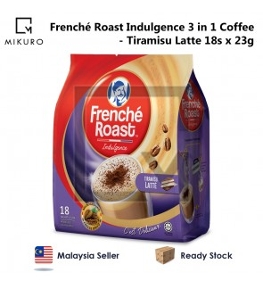 Frenche Roast Indulgence 3 in 1 Coffee - Tiramisu Latte (23g X 18 Sachets)