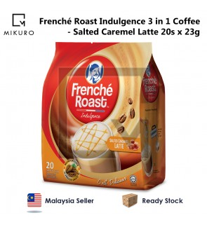 Frenche Roast Indulgence 3 in 1 Coffee - Salted Caramel Latté (23g X 20 Sachets)