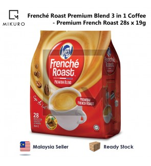 Frenche Roast Premium Blend Premium French Roast 3 in 1 Coffee (19g X 28 Sachets)