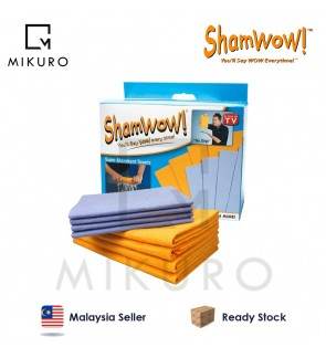 8 Piece Shamwow Super Absorbent Multi-purpose Cleaning Towel