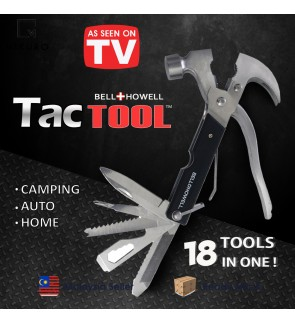 Tac Tool 18 IN 1 Handy Tool Howell Toolbox Worth of Tools Hammer Screwdriver