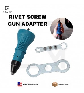 Electric Rivet Nut Gun Riveting Tool Cordless Riveting Drill Adaptor