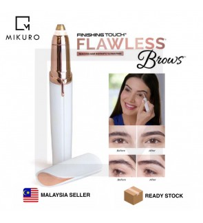 RECHARGEABLE Flawless Brows Electric Finishing Touch Painless Eyebrow Remover