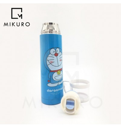 Doraemon 500ml Thermos Bottle With Cup Vacuum Bottle Thermal Flask