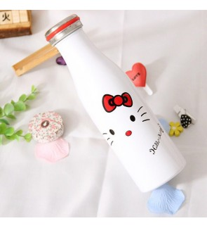 Hello Kitty 500ml Thermal Flask White
