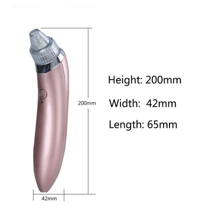 Rechargeable Facial Skin Care Acne Blackhead Vacuum Blackhead Remover Suction Cleaner