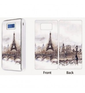 Stico Pineng PN-929 Power Bank Sticker Skin Paris Design