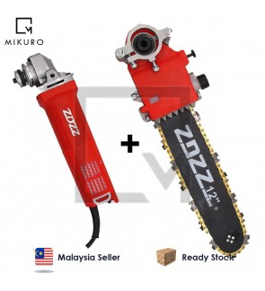 2 in 1 Electric Chain Saw Machine Stand Bracket Set With Grinding&Cutting Wheels