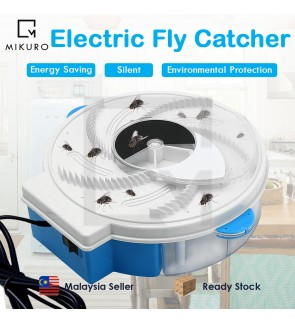 Electric Effective Fly Trap Device Pest Repeller With Trapping Rotating Plate