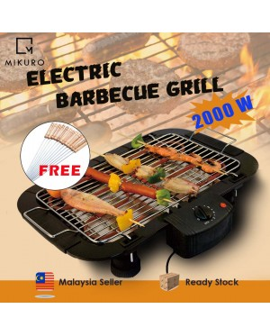 Nonstick Electric BBQ Grill Smokeless Griddle Barbecue Kitchen Tools Cookware