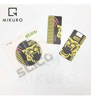 Stico Harimau Malaya Power Bank Sticker Skin For Pineng PN-999 Power Bank