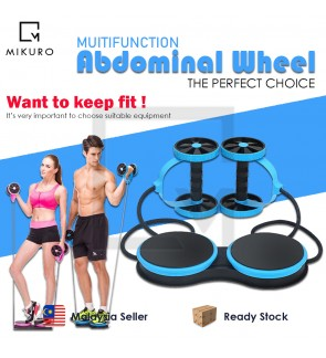 Multifunctional Muscle AB Rollers Trainner Slimming Gym Arm Waist Leg Home Gym Fitness Double Abdomi