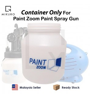 Brand New Extra Plastic Container Only For Paint Zoom DIY Sprayer Paint Gun Paint Zoom Sprayer Acces