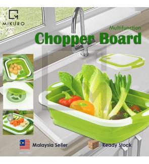 Foldable Fruit Vegetable Washing Basket Chopping Board Kitchen Wash Drain Sink Strainers Storage Basket Food Container
