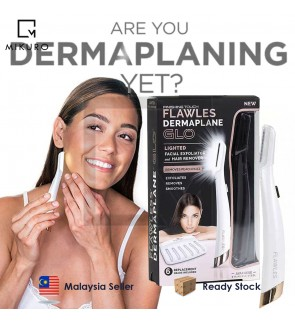 Lady Dermaplaning Shaping Knife Painless Lighted Facial Exfoliator Hair Remover Shaver With Built-In LED Light