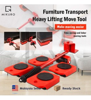 Furniture Lifting Easy Moving Sliders 5 Packs Mover Tool Set Heavy Furniture Appliance Moving & Lifting System