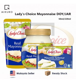 Lady's Choice Real Mayonnaise Doy & Jar 50ml/220ml